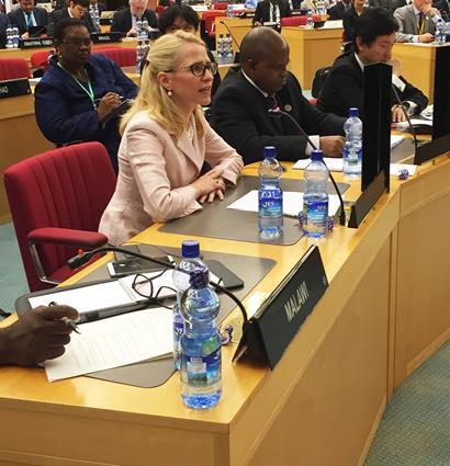 """""""Bisher haben sich rund 90 Länder, darunter alle wichtigen Finanzplätze, zur Übernahme dieses Standards bekannt"""", hielt Aussenministerin Aurelia Frick heute in Strassburg fest."""