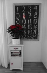 Weihnachtsstern + Chalkboard