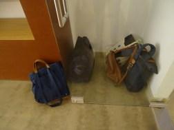 Persönliches Gepäck - eine Nebensache.