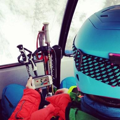 100% Ski. Die, die mir auf Instagram folgen kennen das Bild bereits. BRAVO Beat Feuz!