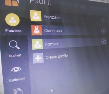 profile anlegen mit readly ganz einfach