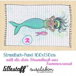 Meerjungfrau 2, Strandtuch, Summersweat, Rapport