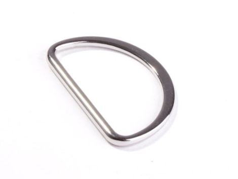 Snaply D Ring Silber 40mm