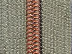Snaply Metallisierter-Reissverschluss-Kupfer-1m-B24
