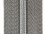 Snaply Metallisierter Reissverschluss Silber 4mm B24