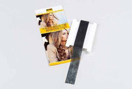 Vlieseline - Kantenband T20 schwarz