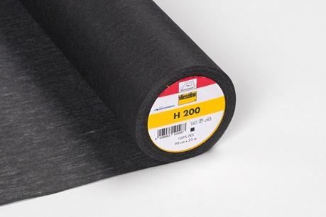 Vlieseline - Vlieseinlage H200 schwarz