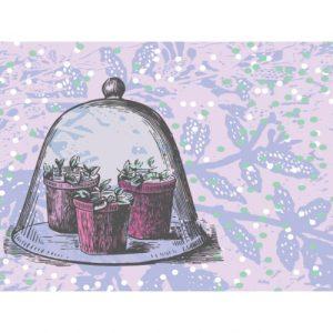 Waldgraefin Postkarte junges Gemüse 15009