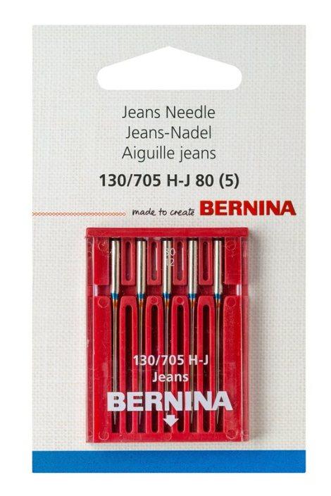 BERNINA, Jeans-Nadel, 130-705-H-J-80-5