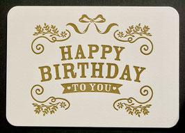 Chartewärchstatt Happy Birthday to you 18.009