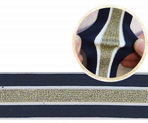 Welti gestricktes band querelast gestreift 4601X-35-2