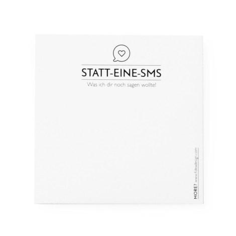 fideadesign post-it statt-eine-sms 3223