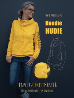 Prülla hat nicht nur Etiketten: Papierschnitt Hoodie Hudie