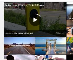 Audience Flow bei YouTube - Autoplay - Countdown