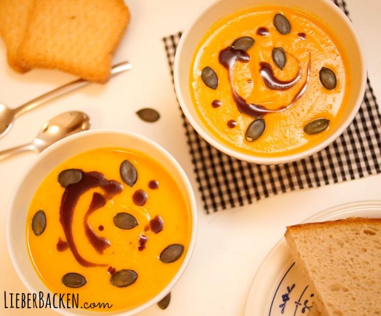 Einfache Kürbissuppe