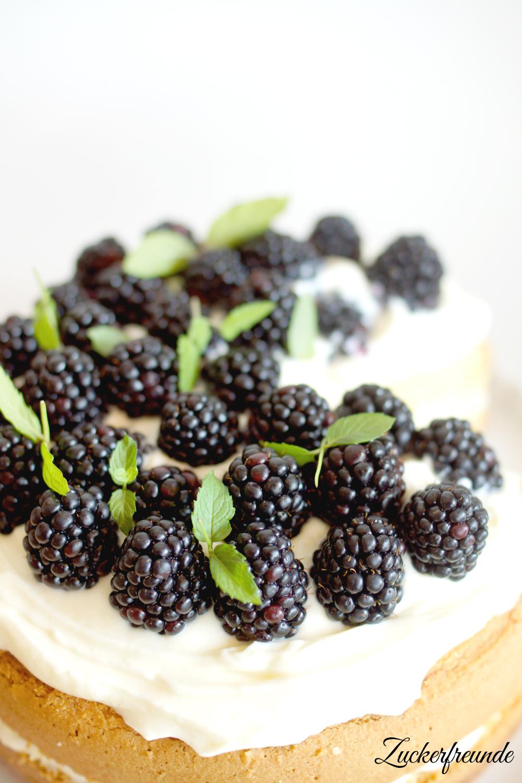 Brombeer-Limetten Torte