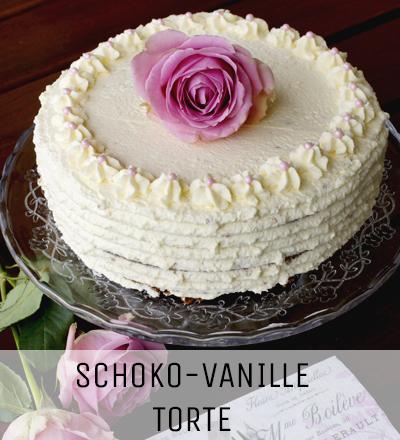 Schoko Vanille Torte Lieberbacken