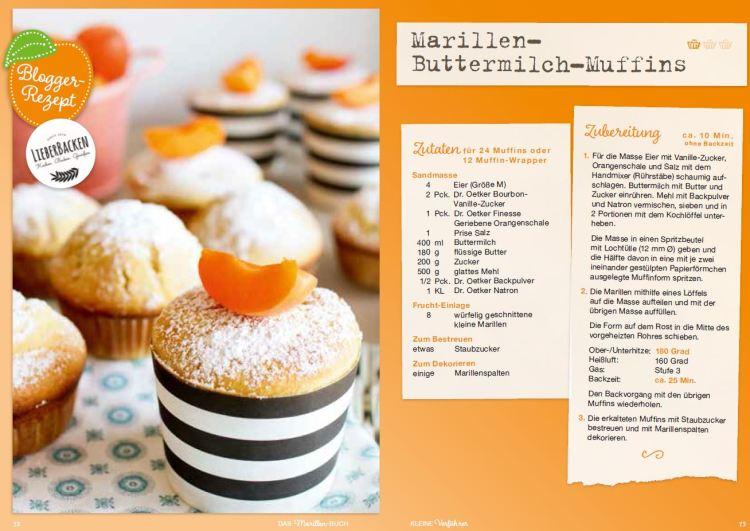 Marillen Muffins LieberBacken für Dr. Oetker
