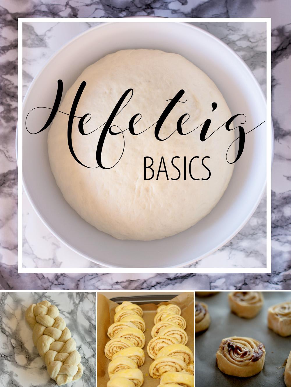 Hefeteig-Basics: So gelingt dein Hefeteig mit frischer Hefe oder mit Trockenhefe!