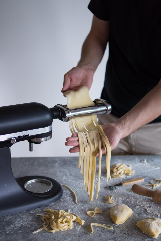 Nudeln selber machen mit der KitchenAid Mini