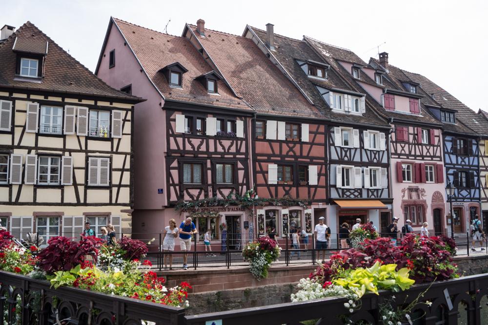 Schöner Fachwerk-Bau in Colmar