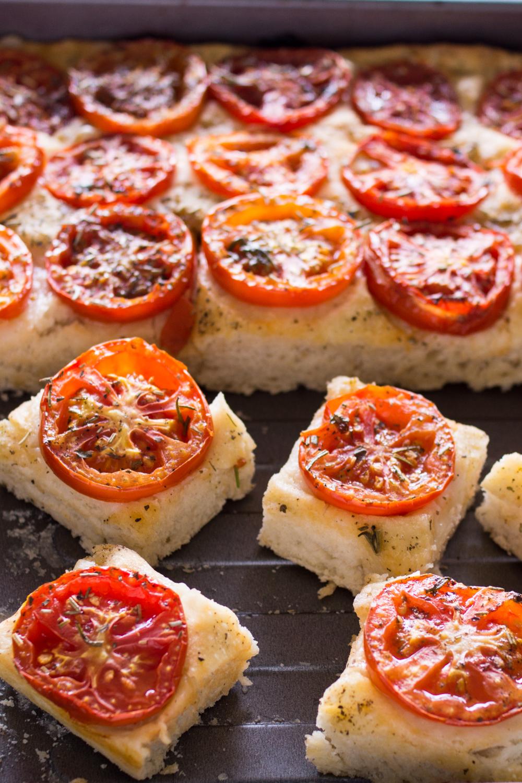 Fingerfood Focaccia Mit Tomaten Lieberbacken