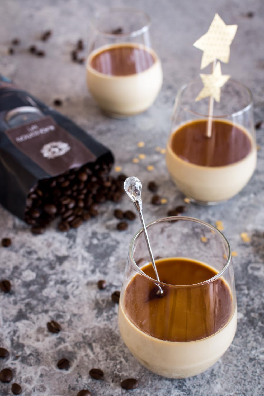 Espresso Panna Cotta - schnell gemacht
