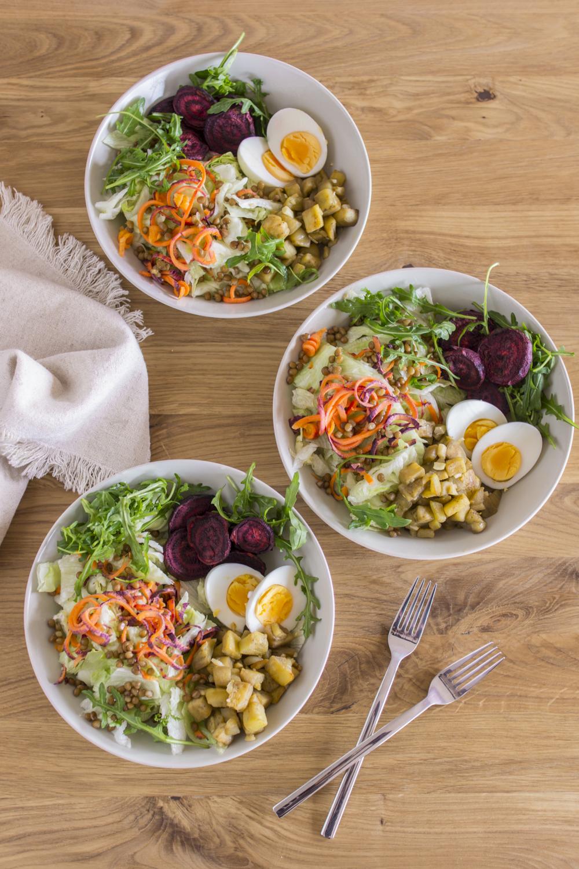 Buddha Bowl - ein leckeres, vegetarisches Rezept