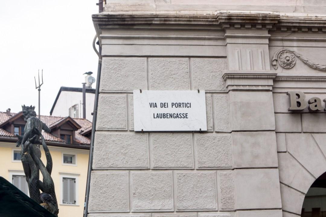 Laubengasse in Bozen - Sehenswürdigkeiten und Tipps für einen Kurztrip in Südtirol