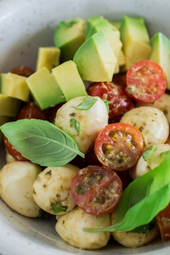 Avocado Caprese Bowl