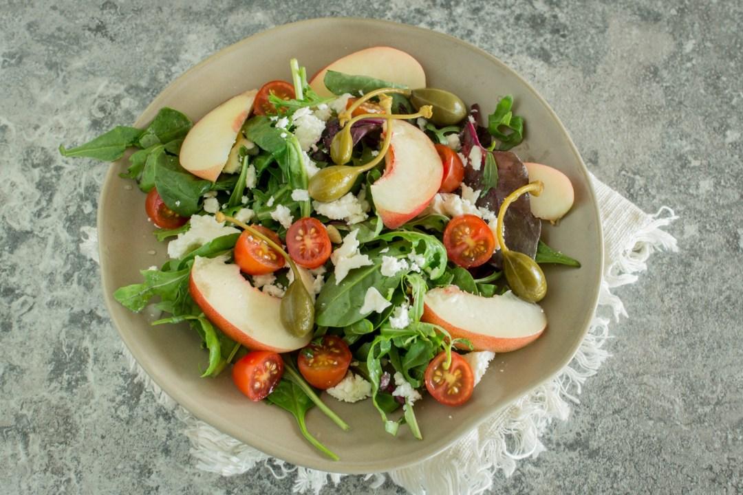 Mediterraner Salat | Schnelles Rezept