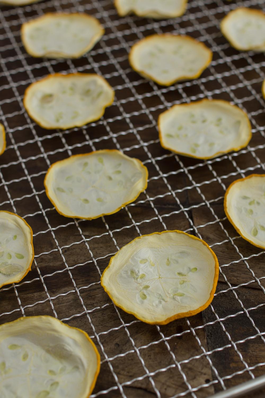 Zucchini haltbar machen: Einfach dörren und später verwenden #dörren