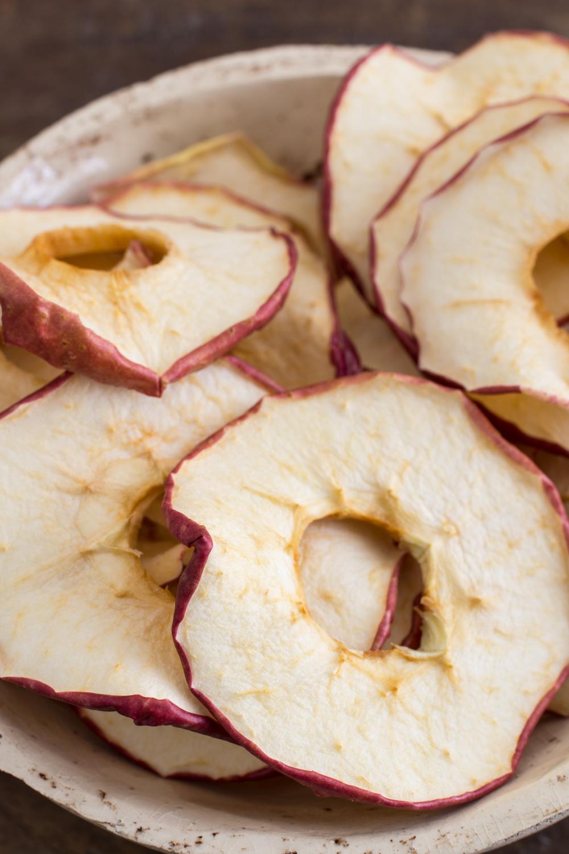 Dörren: Apfelringe selber dörren - Leckere Snacks selber machen