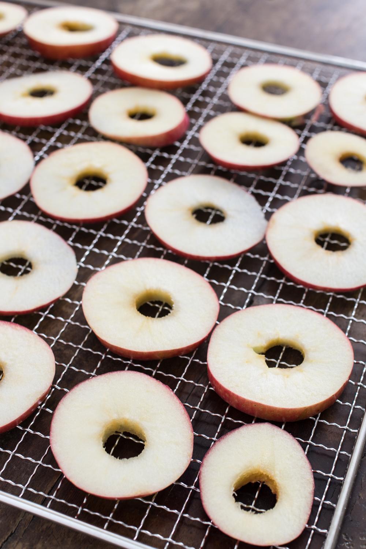 Apfelringe im Dörrautomat dörren - Einfache Anleitung