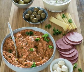 Dip-Platte zum Snacken - Ideal für Gäste #Fingerfood