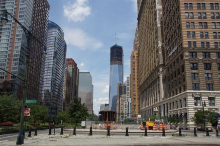 Neues One World Trade Center auf Ground Zero