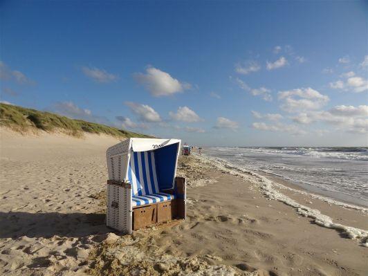 Strandkorb in Westerland