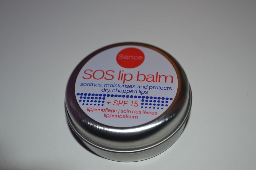 SOS lip balm