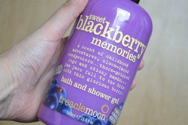 sweet blackberry memories