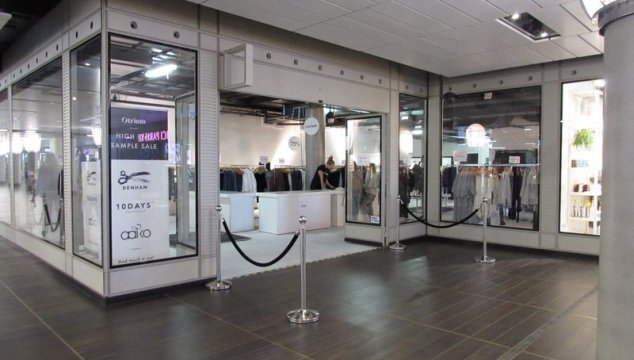 Otrium pop up High End Sample sale in Amsterdam!