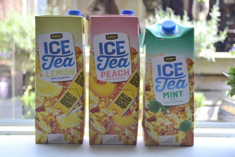 ice tea smaken