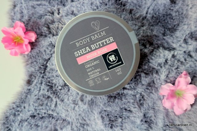 Urtekram body balm shea butter musk rose