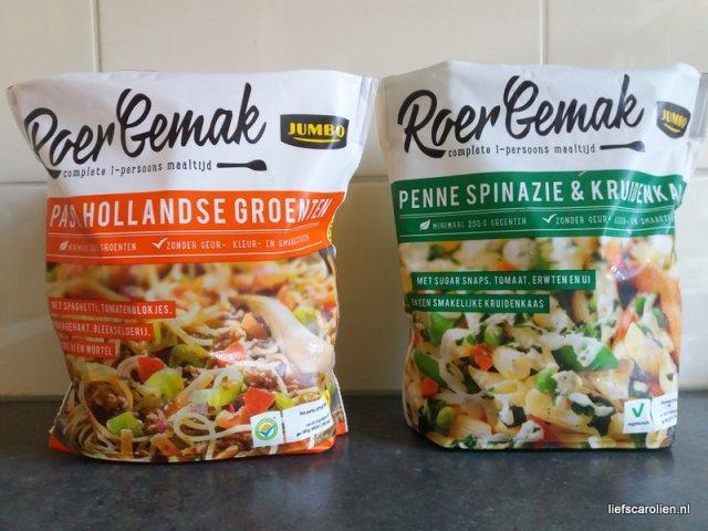 Jumbo roergemak pasta hollandse groenten