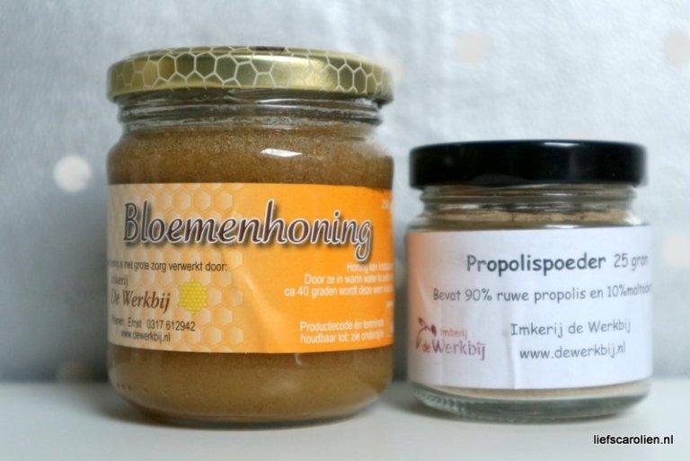 propolis honing zelf maken