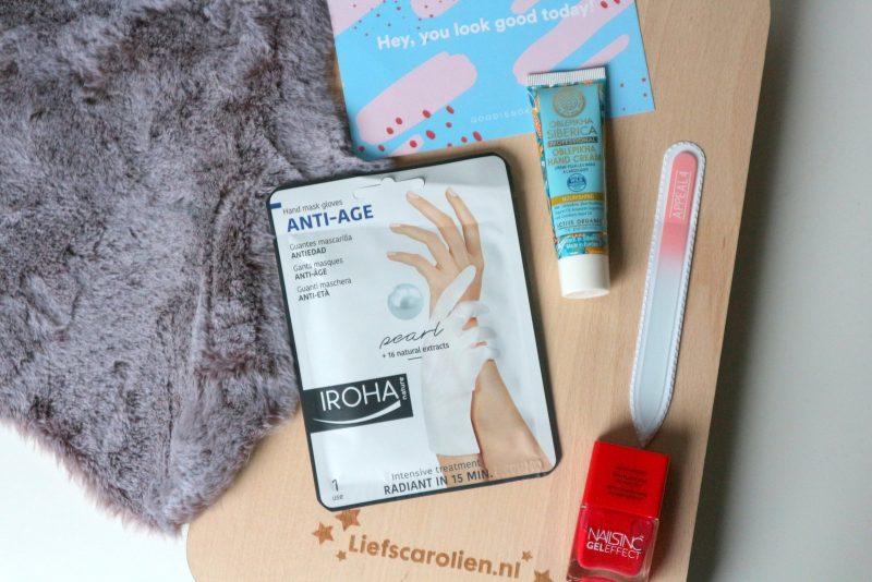 goodiebox hand care kit