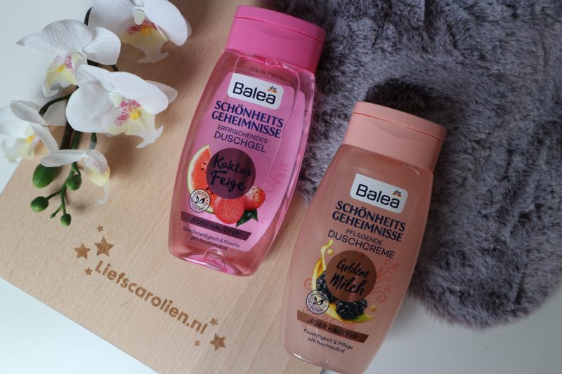 Balea schonheits geheimnisse duschgel/creme