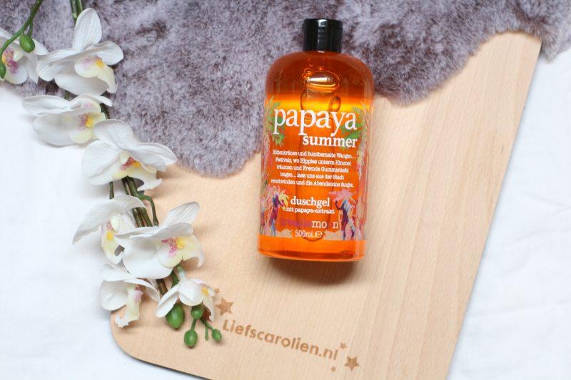 treaclemoon papaya summer