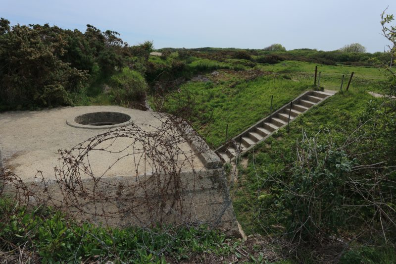 pointe du hoc, normandie