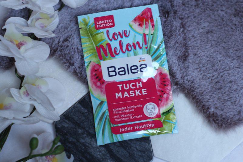 balea tuch maske love melon