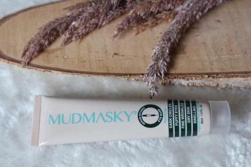 mudmasky serum infused eye mask